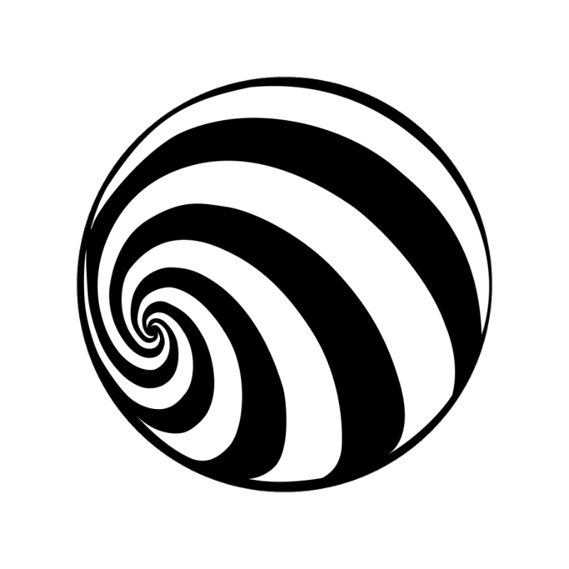 Hypnotic spiral png. Apollo metal gobo stage