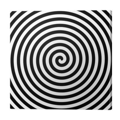 Hypnotic spiral png. Black and white hypnosis