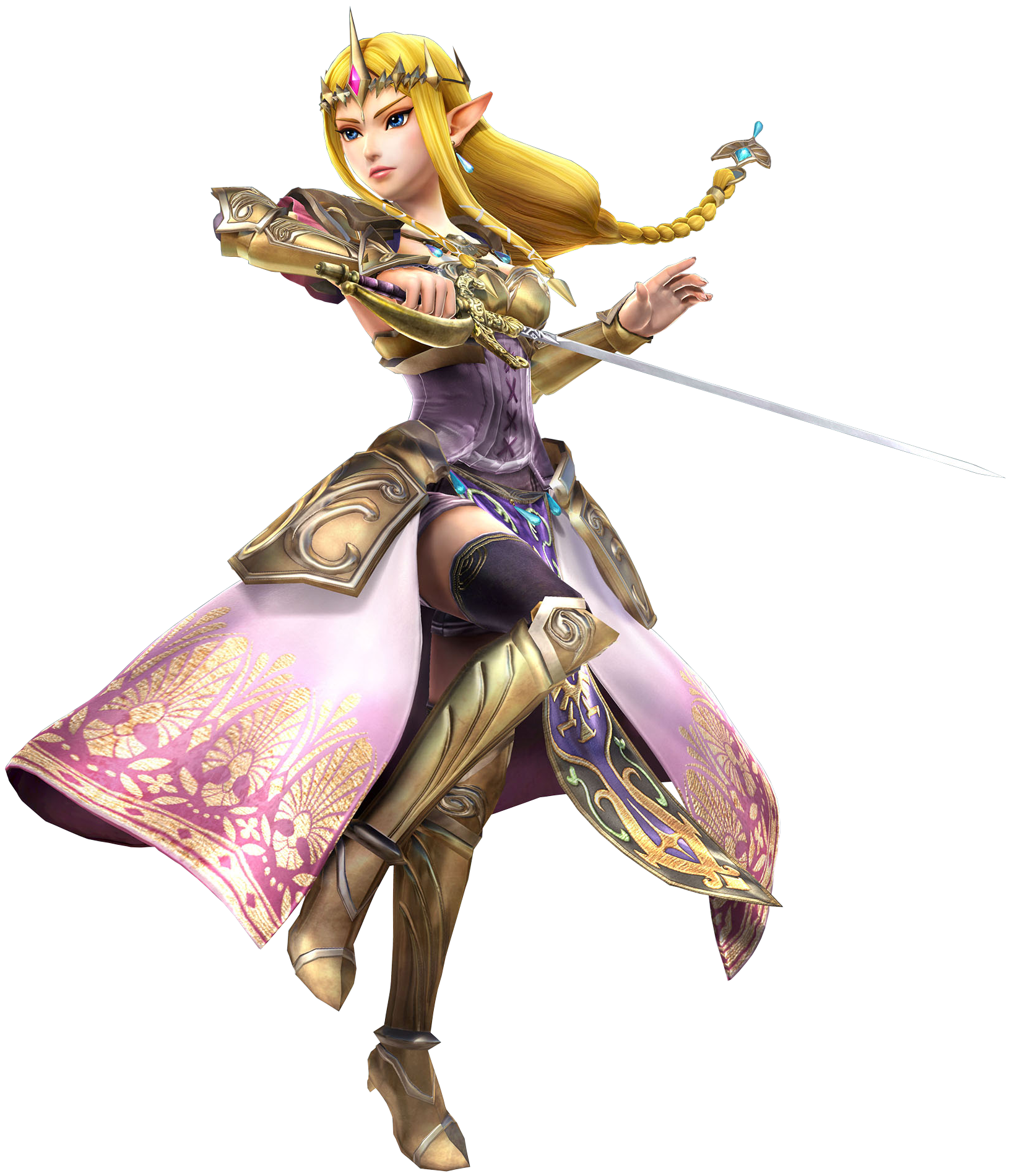 Character transparent zelda. Image rapier hyrule warriors