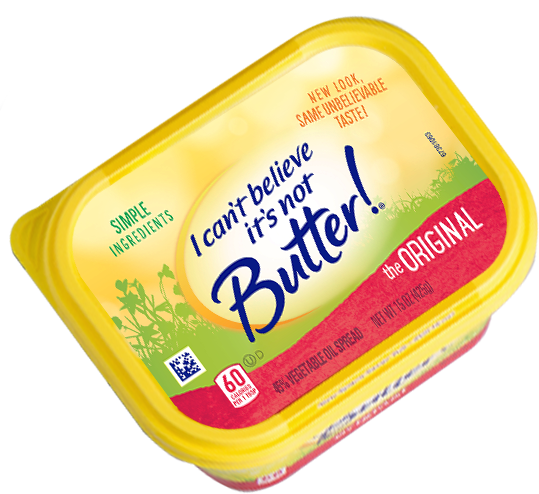 I cant believe its not butter png. Real simple ingredients can
