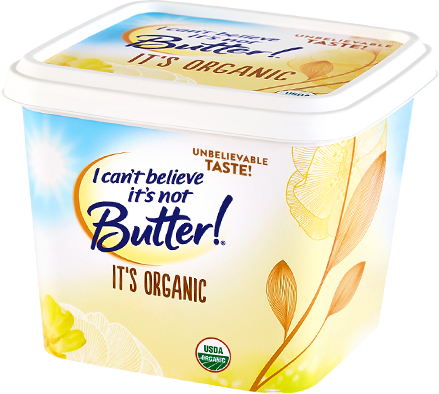 I cant believe its not butter png. Organic buttery spread oz