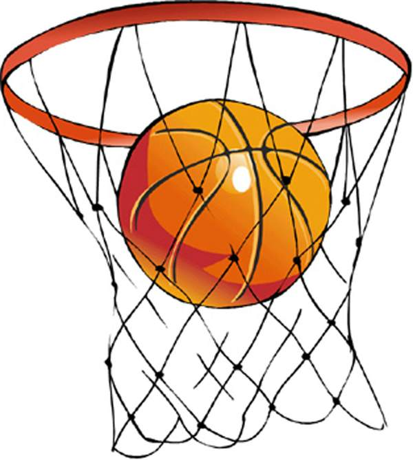 Basketball clipart basketball hoop. Clip art panda free
