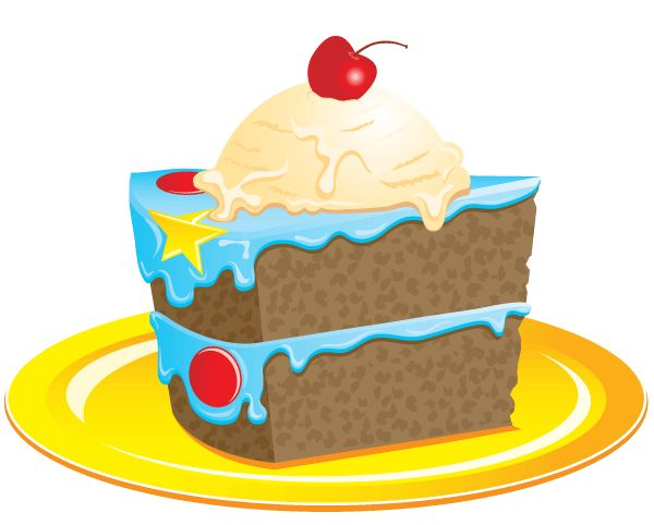 I clipart cake. Art birthday cakes clipartix