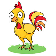 Rooster clipart real. Free chicken clip art