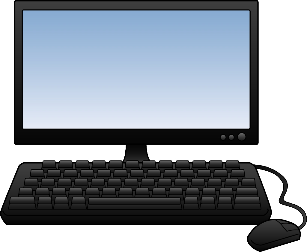 I clipart computer. Fresh gallery digital collection