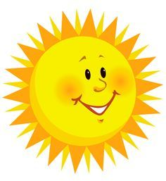 I clipart sun. Free images to use
