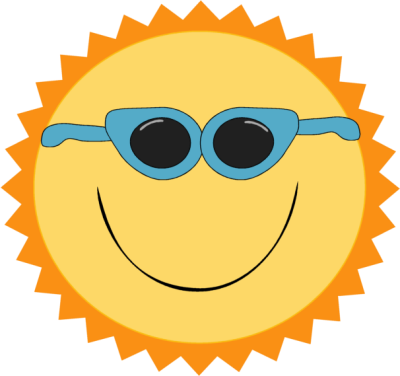 Fun in the sun boarders png. Clip art images wearing