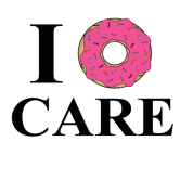 I donut care png. Don t iphone case