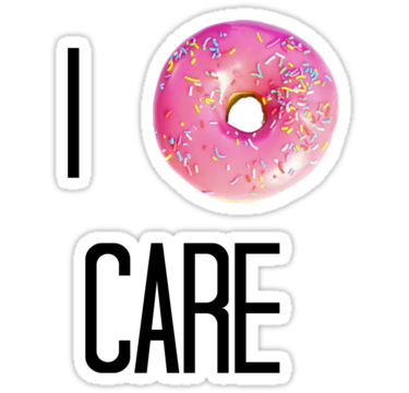 I donut care png. Stickers by victoria jover