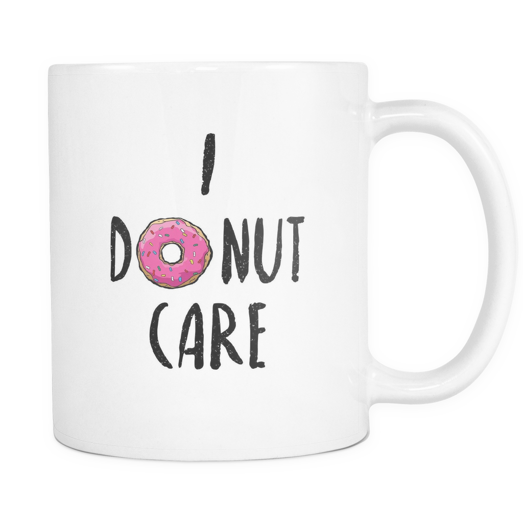 I donut care png. Desket cheapest mugs on