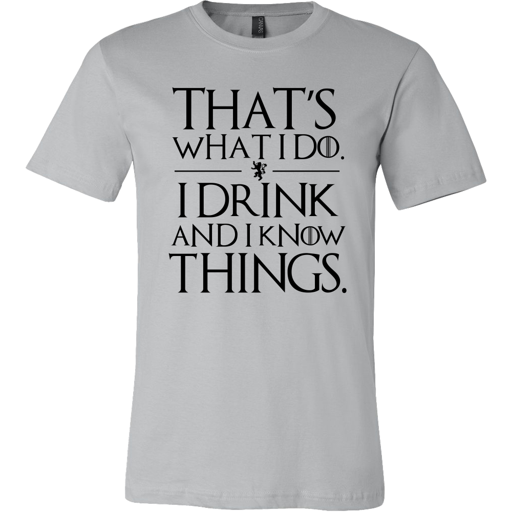 i drink and i know things png