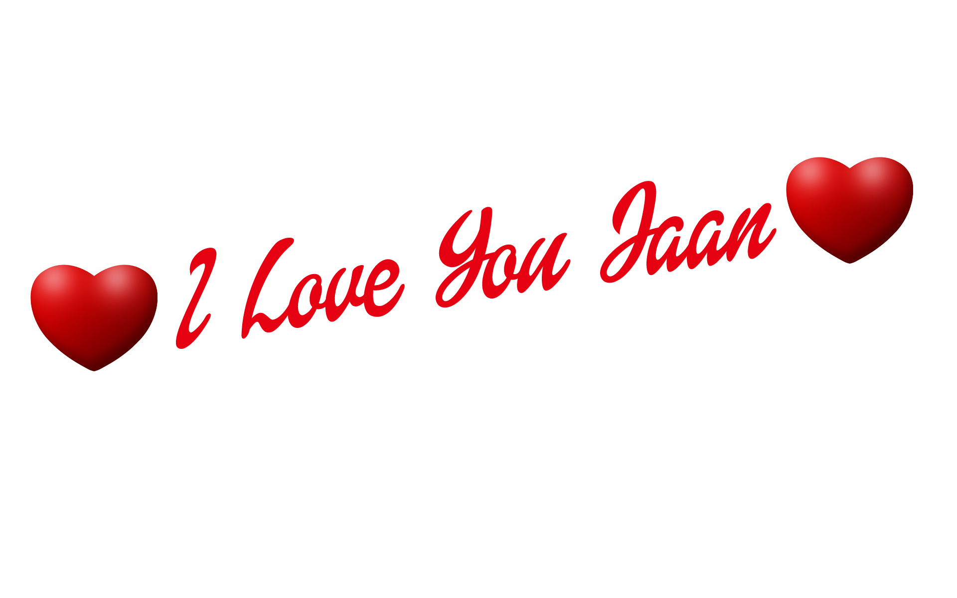 Love you jaan name. I heart png clip transparent download