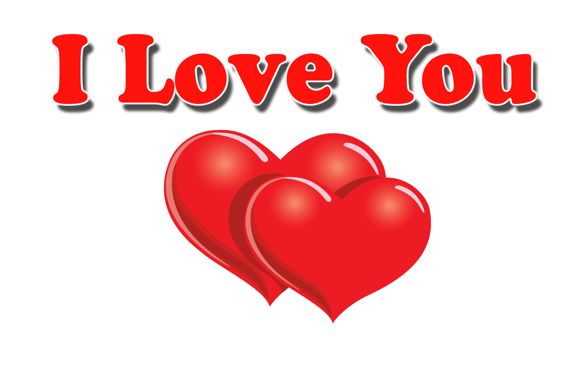 Love u hd transparent. I heart png graphic free stock
