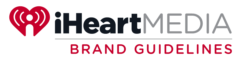 I heart radio logo png. Brand guidelines