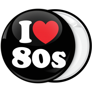S. I love the 80s png image transparent