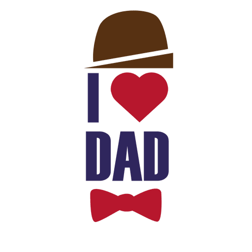 typography vector father's day