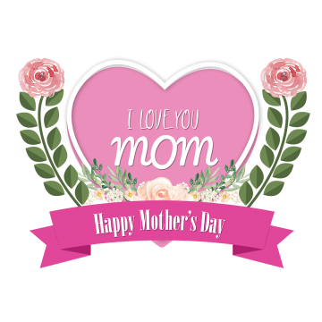 Images vectors and psd. I love you mom png png black and white