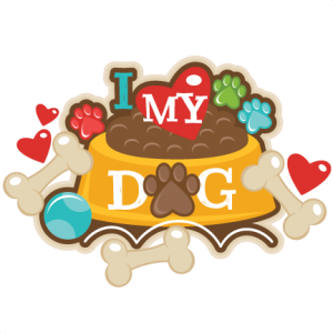 Free cut file available. I love my dog png png