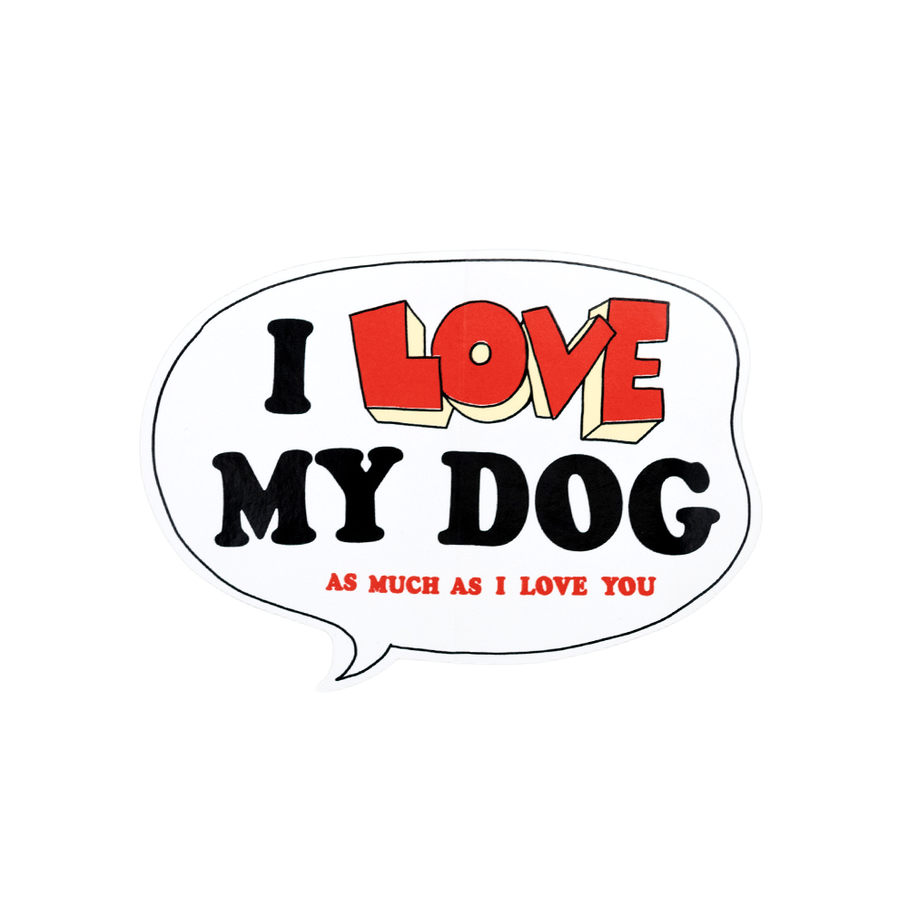 I love my dog png. Sticker official yusuf cat