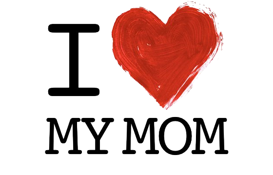 Download transparent image arts. I love you mom png image free download