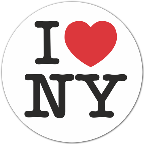 I love new york png. Sticker surf skate ny