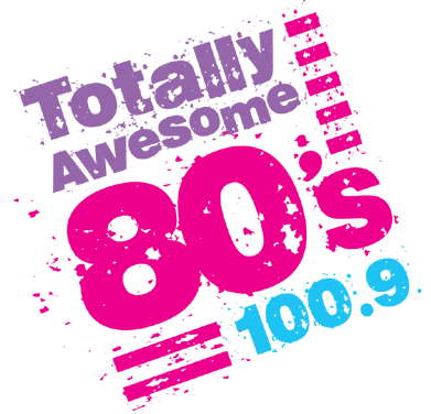 I love the 80s logo png. On air totally awesome