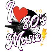 I love the 80s png. S music iphone case