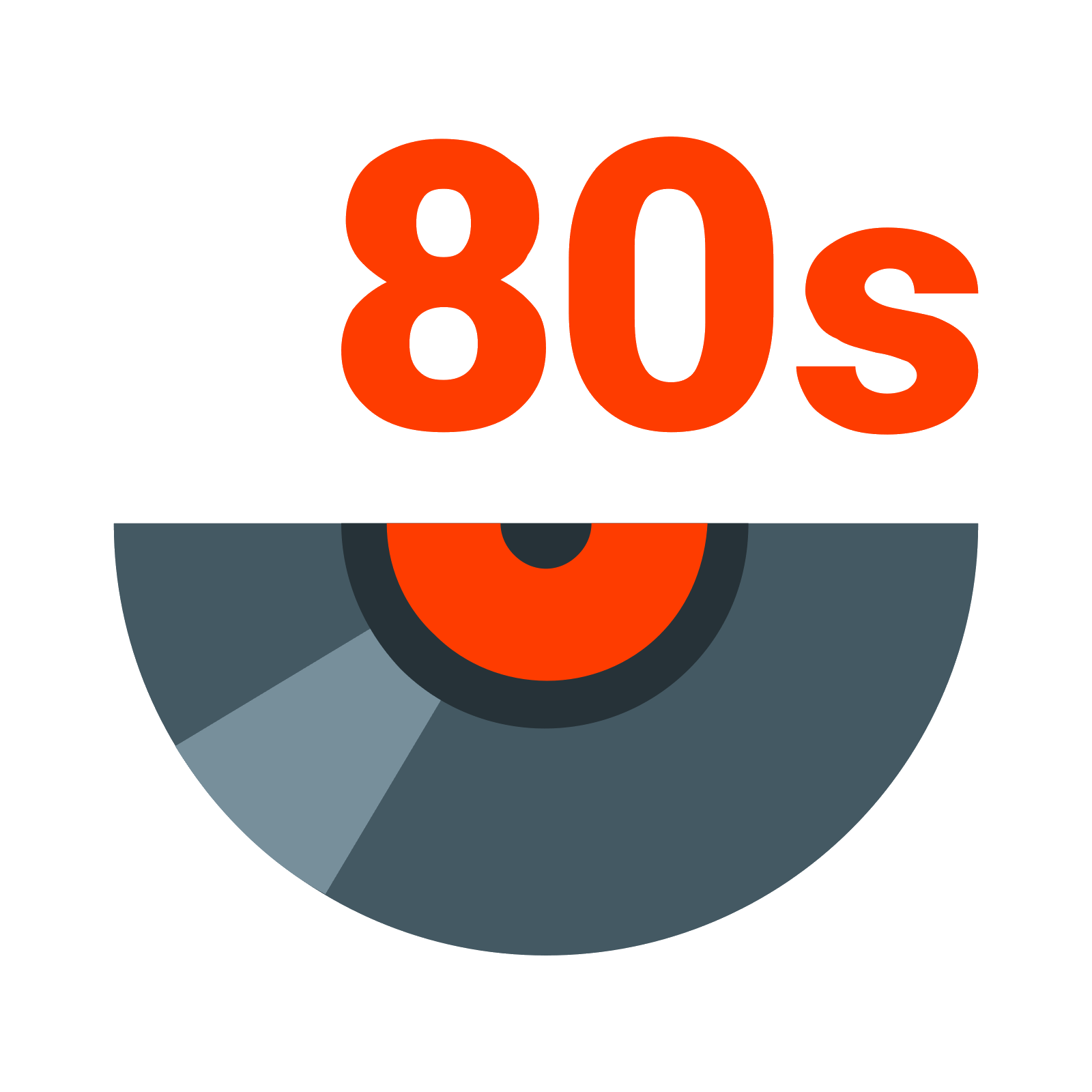 S music icon. I love the 80s png clip royalty free stock