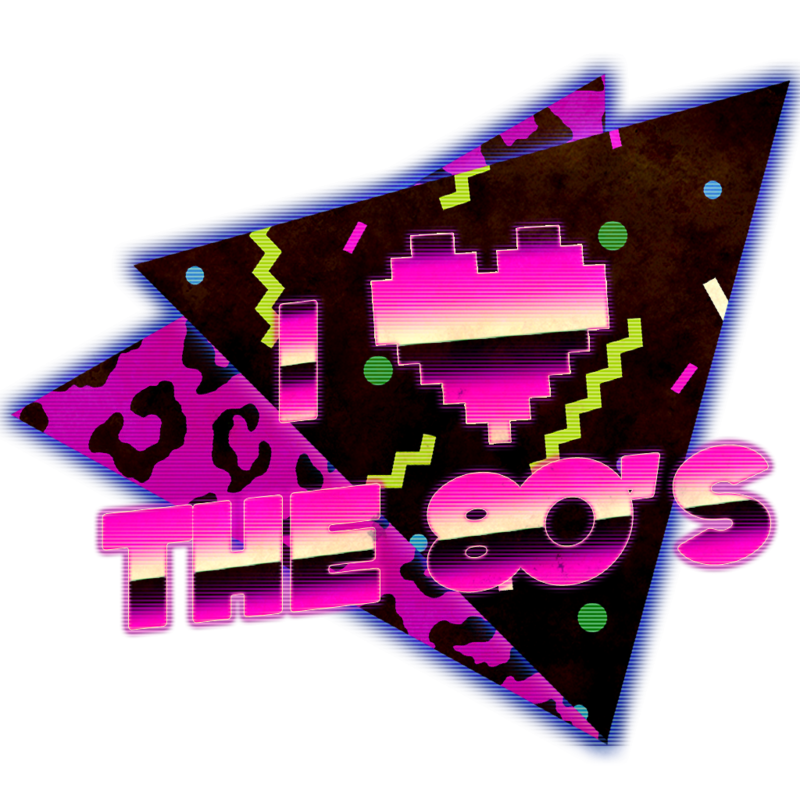 S t shirt design. I love the 80s png clip stock