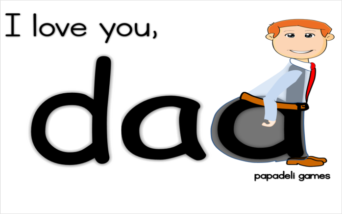 I love u dad png. Daddy high quality image