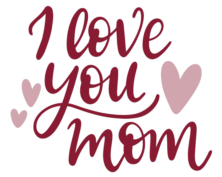 Image all. I love you mom png clip freeuse stock