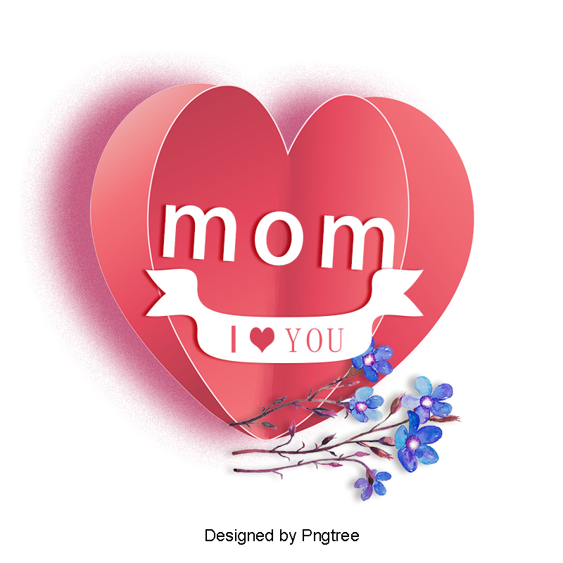 English heart shaped happy. I love you mom png banner black and white stock