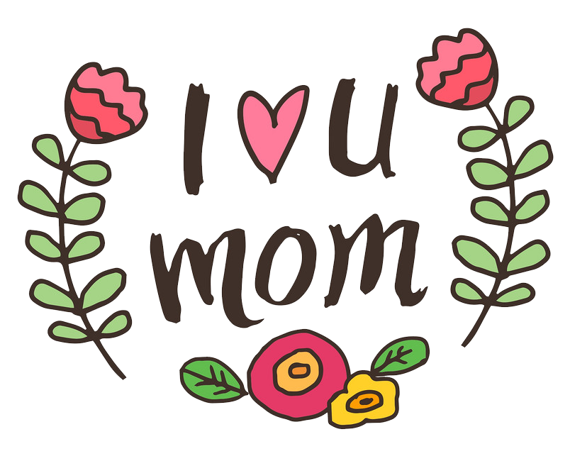 Mother s day clip. I love you mom png clip free stock