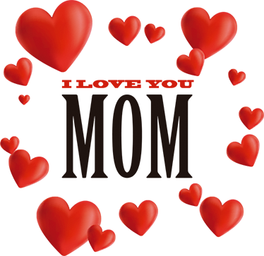 Mum wall sticker tenstickers. I love you mom png image transparent download