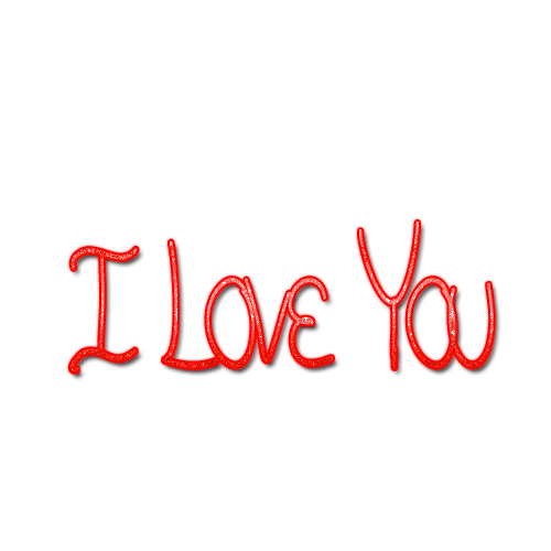 I love you png. Transparent images all text