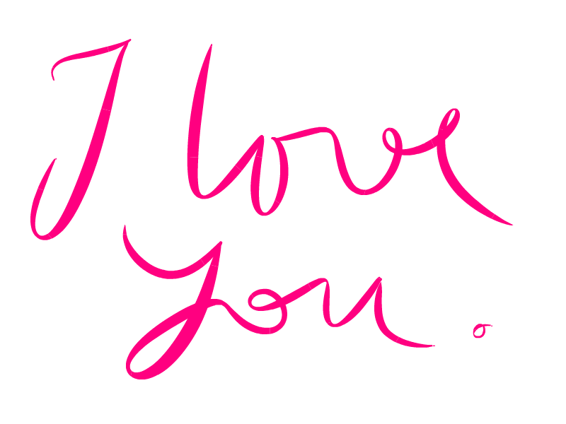 I love you tumblr png. Words download