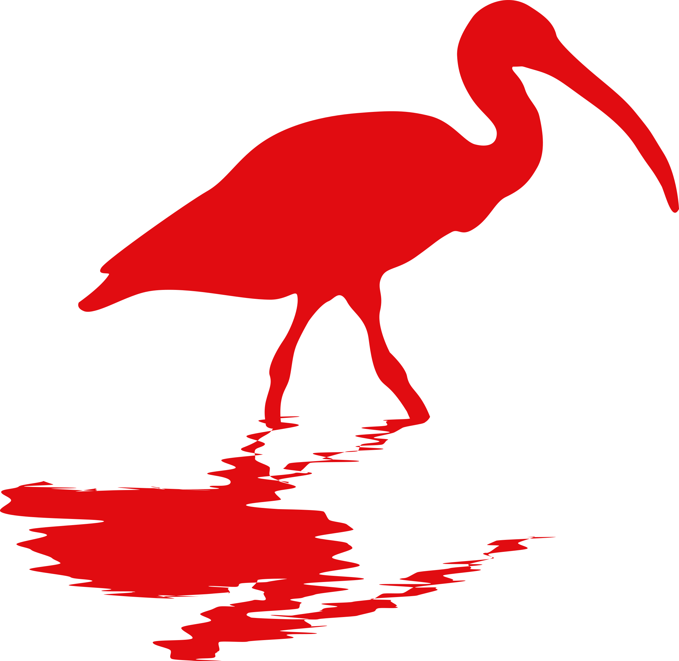 Ibis drawing red, Picture #2679343 ibis drawing red