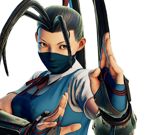 Ibuki street fighter 5 png. Costumes character data capcom