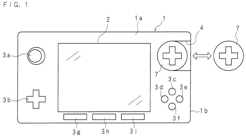 Stupid drawing patent. New nintendo shows portable