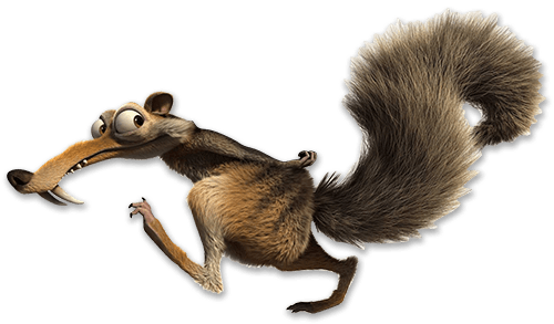 Squirrel tail png. Ice age