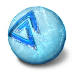 Ice ball png. Orbz icon iconset arrioch