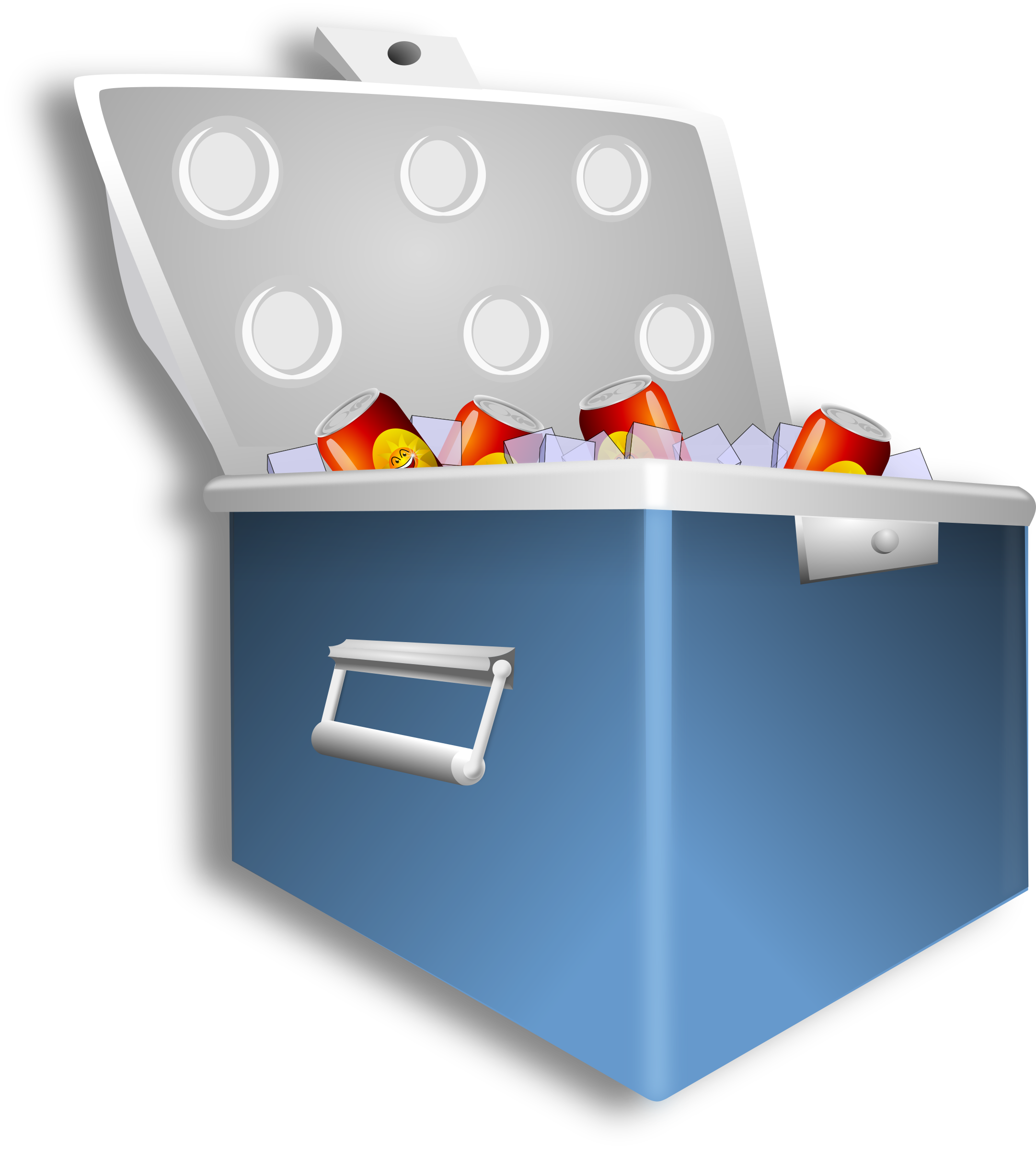 Ice chest png. Cooler remix icons free