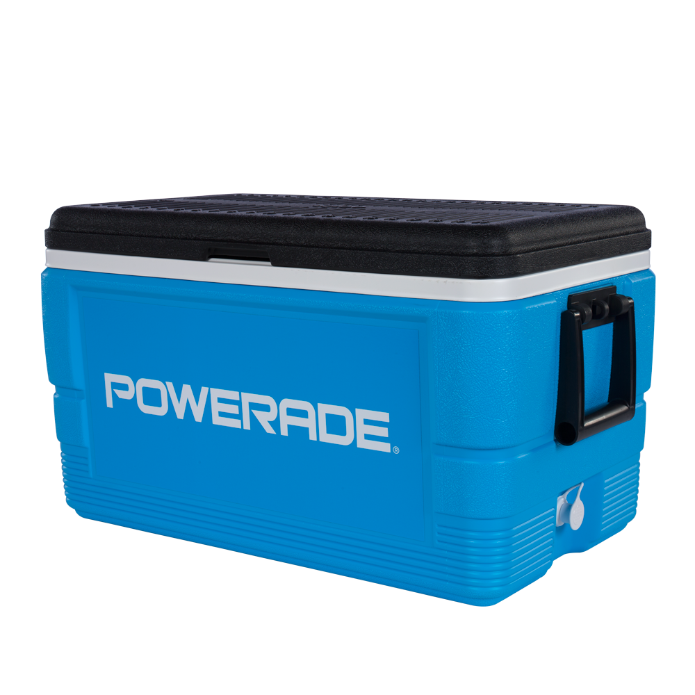 Ice chest png. Powerade quart hydration center