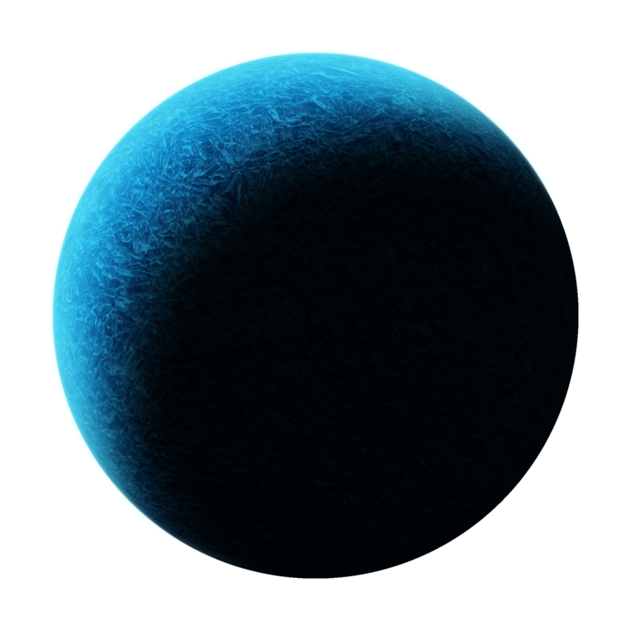 Planet png. Ice by breezyxox on