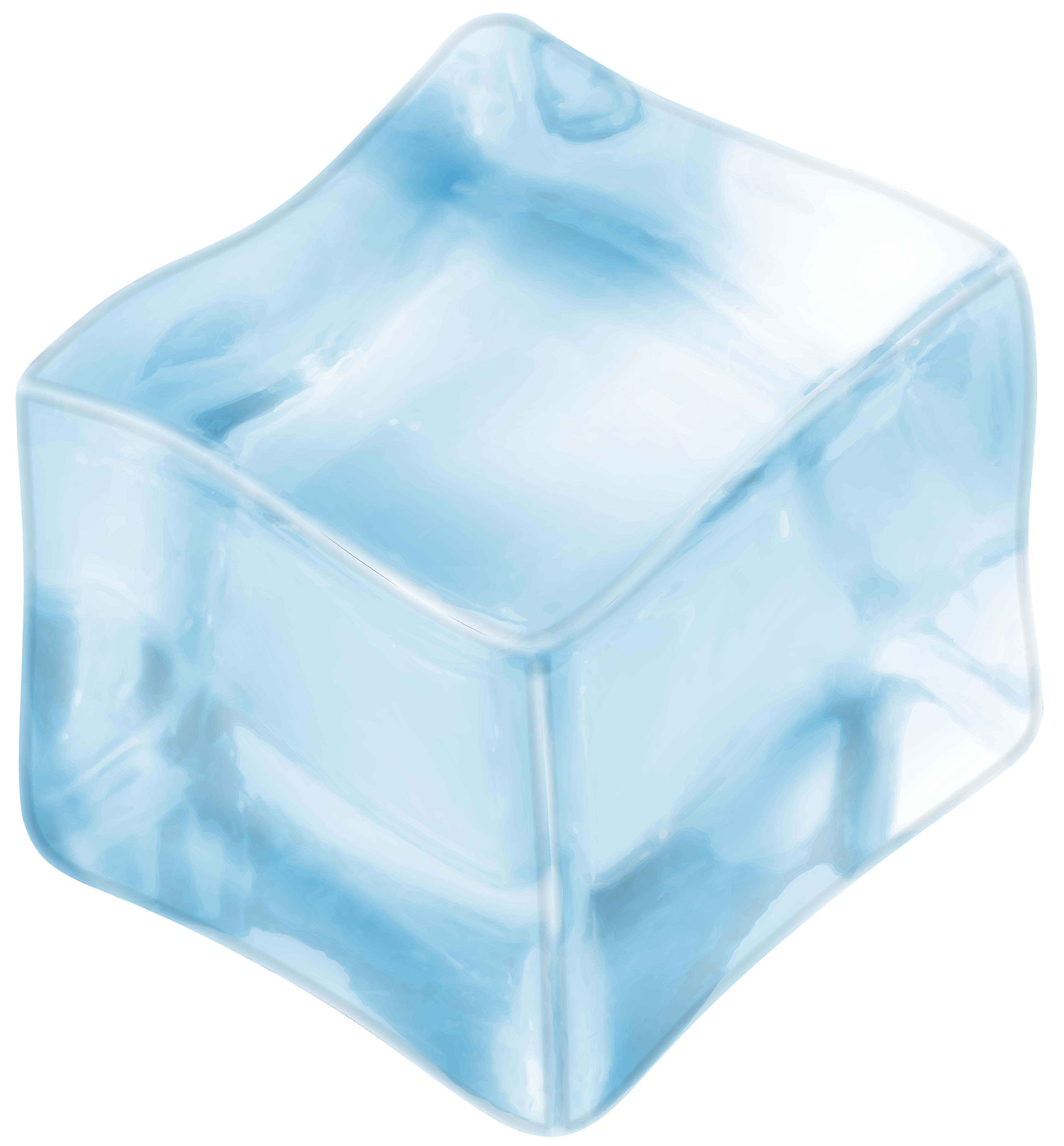 Ice cube transparent png