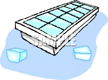 Cube tray with cubes. Ice clipart svg free library