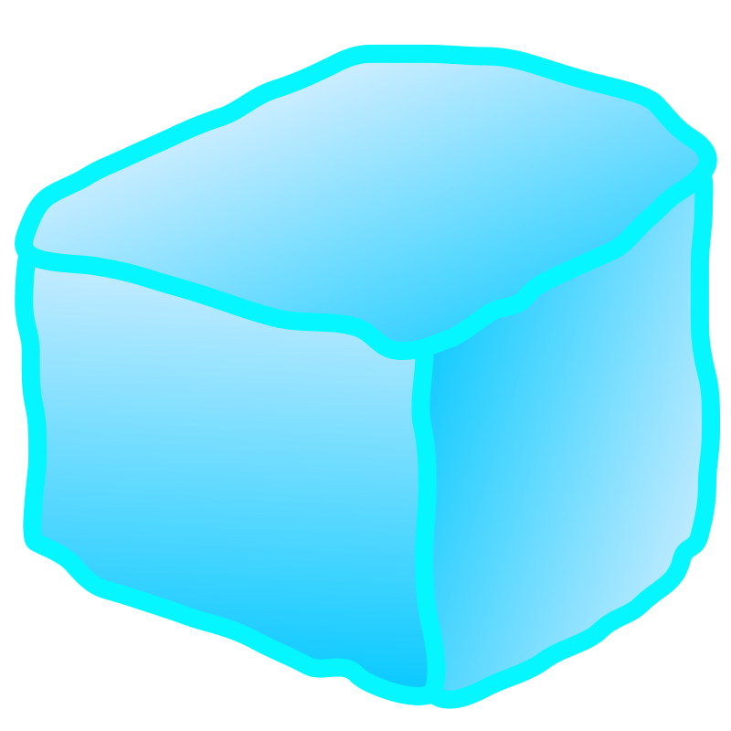 Ice clipart clear. Cube clip art download