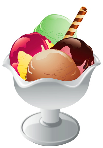 Ice clipart clear. Cream sundae transparent png