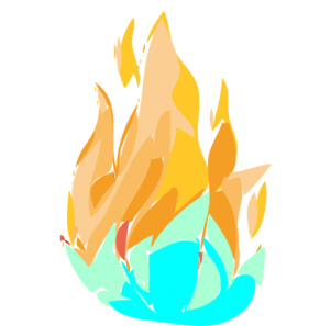 fire and ice png