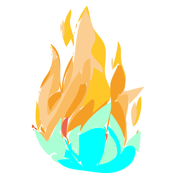 Ice clipart fire. And clip art at